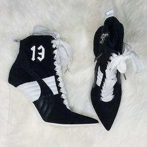 Puma Fenty Stiletto Heel Booties Sport Chic Design